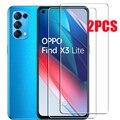 Закаленное защитное стекло для OPPO Find X3 Lite X3Lite CPH2145 6,43 дюймов, Защитная пленка для экрана телефона
