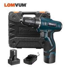 LOMVUM perceuse visseuse électrique Rechargeable étanche, outils électriques multifonctions, Mini perceuse sans fil