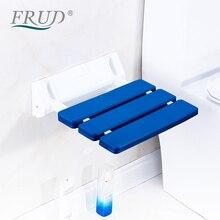 Chair Bench Shower-Seats Toilet Wall-Mounted Bathroom-Stool-Taburete Folding Durable
