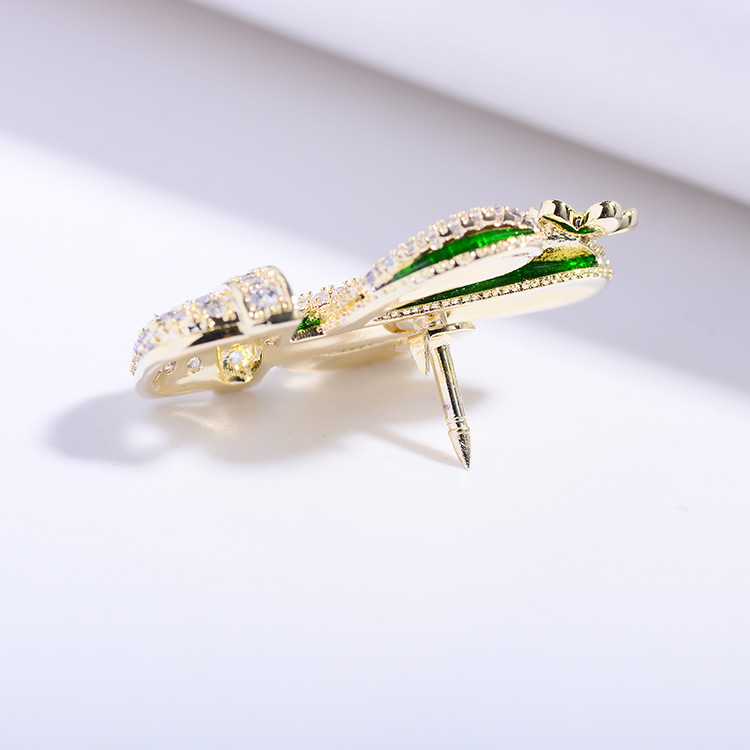 Bad Guy Zircon Brooches for Women's Brooch Pin Fashion Pins Accessories for Clothes Decoration Brooch Pins Metal Cactus Broche-5