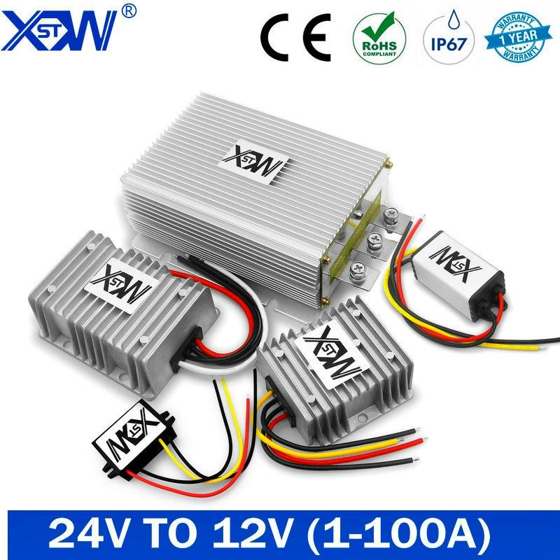 DC DC Converter 24V to 12V 40A 5A 8A 10A 20A 100A 50A Step Down 24 Volt to 12 Volt Buck Regulator Voltage CE for Solar for LED
