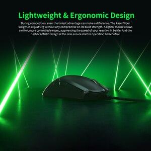 Image 3 - Razer Víbora Wired Gaming Mouse 16000DPI Ratos de Computador RGB PAW3390 60g Leve Cabo SpeedFlex DPI Sensor Óptico para PC
