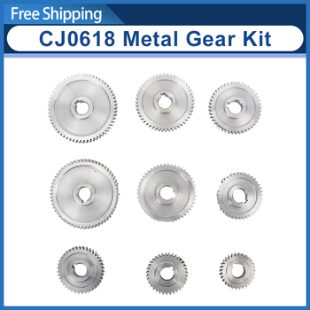 9pcs mini lathe gears Metal Cutting Machine gears CJ0618-341B lathe gears