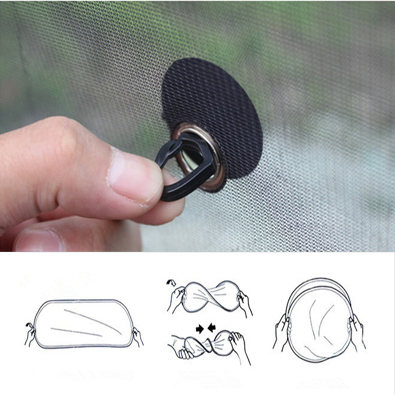 Image 2 - 2Pcs/Set 44*37cm Black Car Sun Shade Side Rear Car Window Sunshade Cover sun protectAuto Accessories parasole auto parasol coche-in Side Window from Automobiles & Motorcycles
