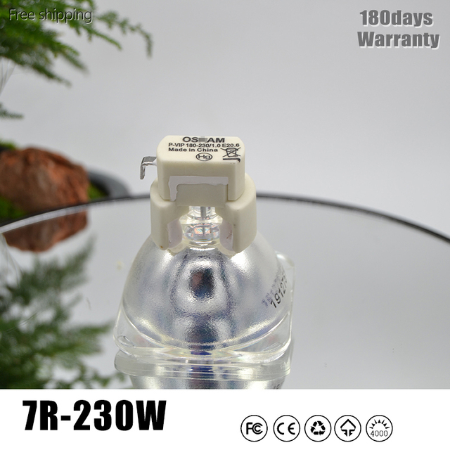 Lampe 7R 230W pour lampe frontale mobile 230W