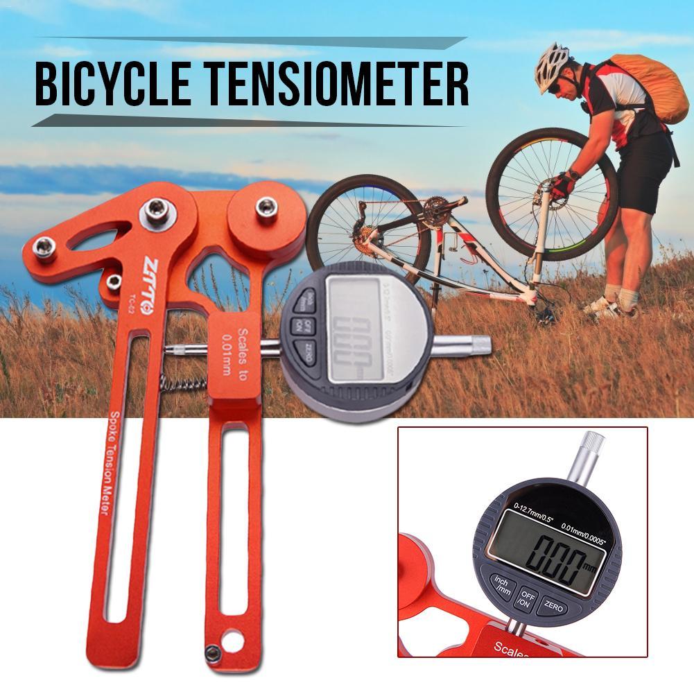 Indicator Bicycle Meter Ray Bike Voltage Meter Watch Electronic Wire Tension Adjustment Wheel Set Correction Rim Repair Tool