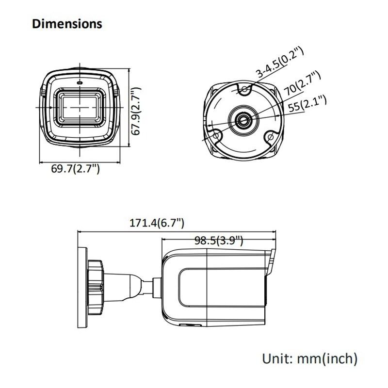 C/ámara de Seguridad IP Interior y Exterior, 1920 x 1080 p/íxeles Hikvision Digital Technology DS-2CD2021G1-IDW1