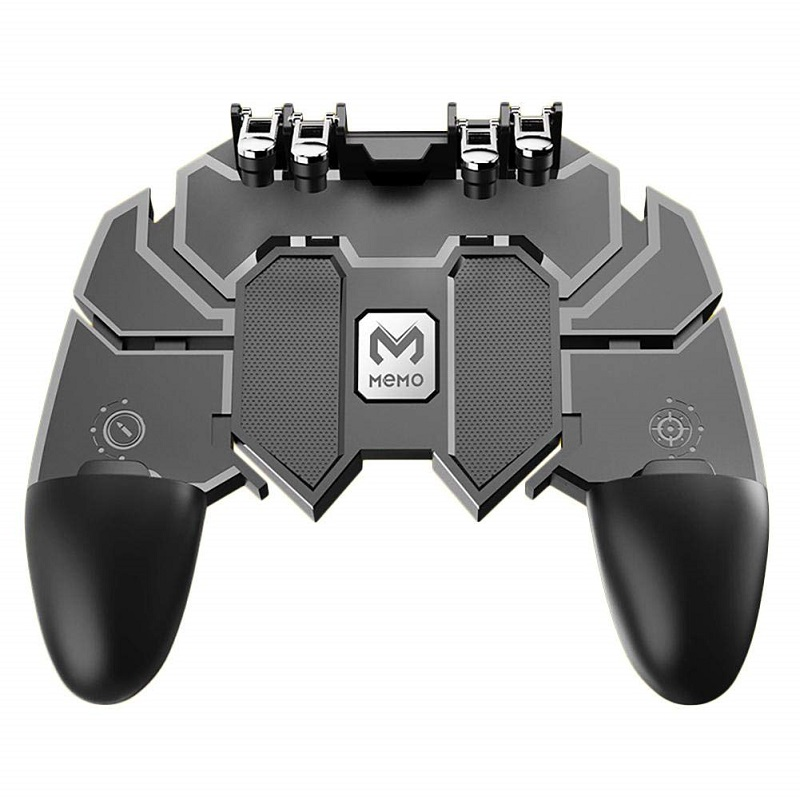 pubg Controller Turnover Button Gamepad for PUBG IOS Android Six 6 Finger Operating Gamepad Peripherals Mobile PUBG Controller(China)