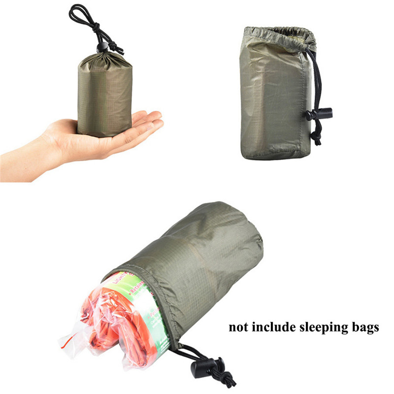 Painstaking Lightweight Camping Sleeping Bags Storage Bag Outdoor Emergency Sleeping Bag Storage With Drawstring Sacks For Travel Camping And Digestion Helping