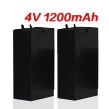Axit Chì 1200MAh 4V Pin Lưu Trữ Muỗi Bát Pin Đèn LED Đèn Pha Đèn Pin Sạc Cao Cấp Capaci