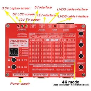 Image 2 - TKDMR Mới Bảng Công Cụ Test Màn Hình LCD LED Bút Thử Cho Tivi/Máy Tính/Máy Tính Xách Tay Sửa Chữa Inverter Tích 55 Loại Chương Trình Miễn Phí Vận Chuyển