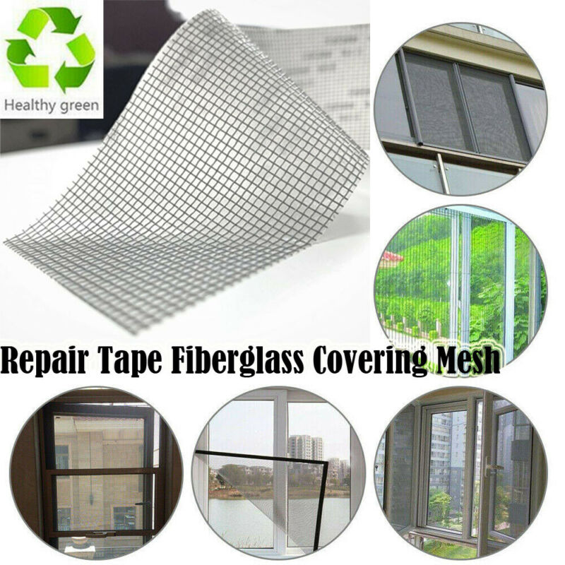 Repair Tape Fly Screen Door Insect Repellent Repair Tape Waterproof Mosquito Screens Cover Repair Tape Mosquito Net Window Mesh