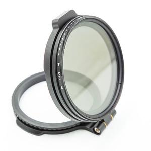 Image 4 - ND Filter Switching Bracket Quick Release Mount for Camera Nikon Sony Fuji DSLR Camera Lens Adapter Flip 58/67/72/77/82mm