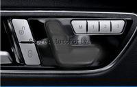 벤츠 C 클래스 W204 용 내부 도어 시트 메모리 버튼 트림 커버 2010-2013 12pcs