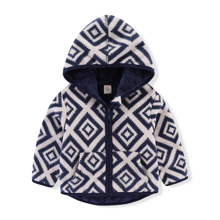 Children Winter Baby Jacket Toddler Girls Clothes Cartoon Pattern Fashion 2021 Long Sleeve 5 Color Fall Baby Boy Outerwear Coats