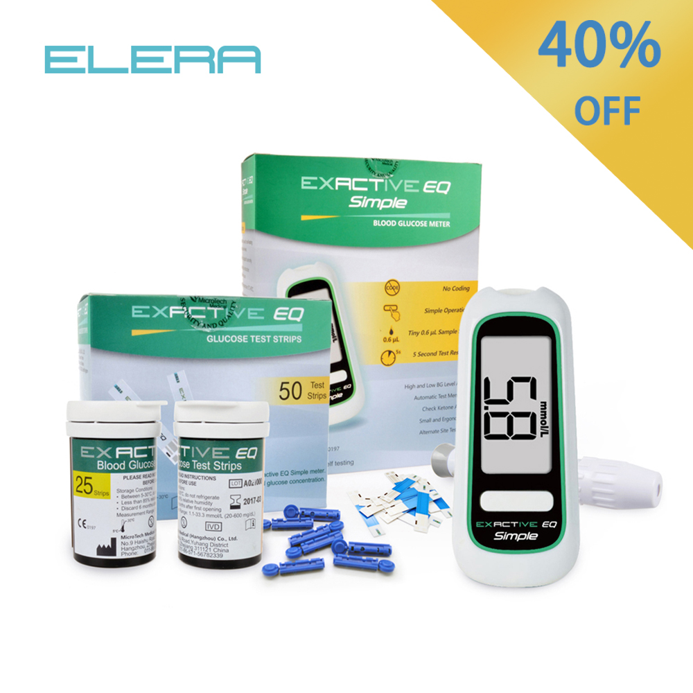MICROTECH MEDICAL Blood Glucose Meters Monitor Diabetics Test With Diabetic Test Strips for Diabetes Glucometro(China)