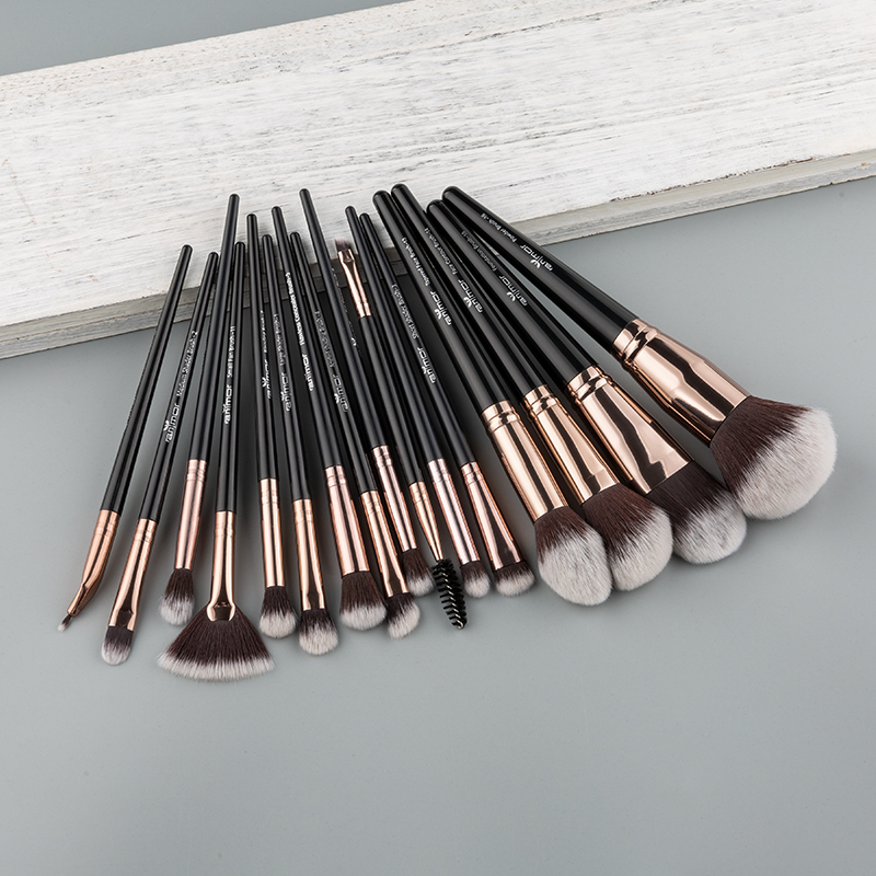 Anmor 4-16Pcs Makeup Brushes Set Professional Eyeshadow Foundation Blush Powder Eyeliner Eyelash Lip Make Up Brush Cosmetic Tool 4