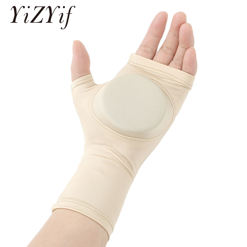 1 Pair Adult Children Figure Ice Skating Hands Protector Pad Safety Gloves Palm Hand Protective Pad Covers For Training Practice