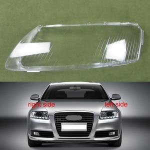 Image 1 - Projecteurs Couvercle En Plastique Abat Jour Phares Couverture Verre Projecteur Coque Pour 2004 2005 2006 2007 2008 2009 2010 2011 Audi A6 C6