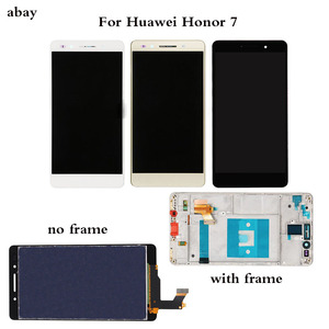Image 1 - 5.2 インチ液晶 Huawei 社の名誉 7 Lcd ディスプレイタッチスクリーンデジタイザ PLK TL01H PLK L01 PLK UL00 PLK AL10 Lcd アセンブリの交換