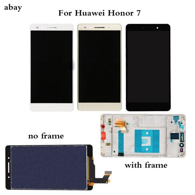 5.2 インチ液晶 Huawei 社の名誉 7 Lcd ディスプレイタッチスクリーンデジタイザ PLK TL01H PLK L01 PLK UL00 PLK AL10 Lcd アセンブリの交換