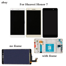 5.2 Inch LCD Voor HUAWEI Honor 7 Lcd Touch Screen Digitizer PLK TL01H PLK L01 PLK UL00 PLK AL10 LCD Assembly Vervanging