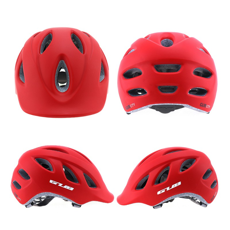 GUB CITY Professional High quality Sports Helmets Urban Bicycle Folding Bicycle Fixed Safety Cap Outdoor City Helmets 4 Colors