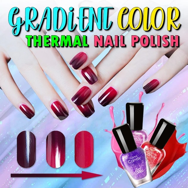 Thermochromic Nail Polish 1