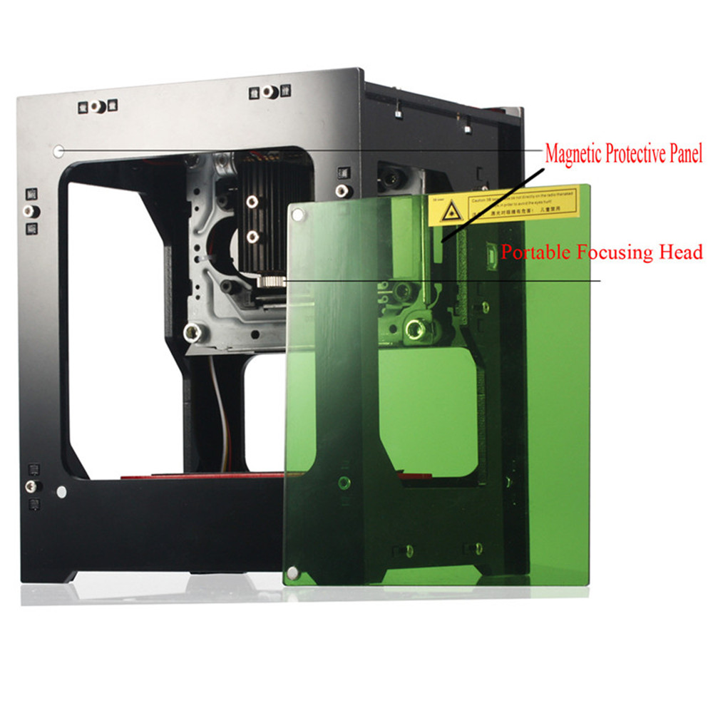 Micro Logotipo da Marca Da Impressora desktop 1000mW Laser Gravadora CNC DIY Carving Máquina de Gravação A Laser para Uso Doméstico De Artesanato Em Madeira ferramenta #