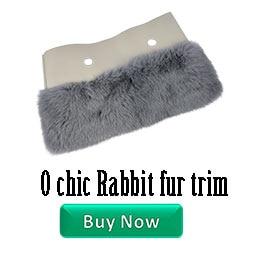 兔子毛竖装饰