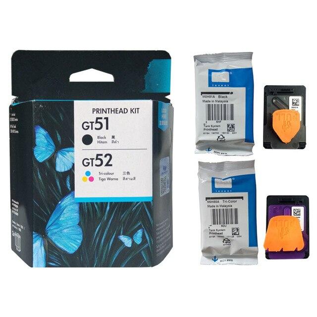 ใหม่ Original สต็อก GT51 GT52 M0H50A M0H51A การพิมพ์สต็อก HP Ink Tank 310 410 318 319 418 GT5800 GT5810 GT5820 HP Ink