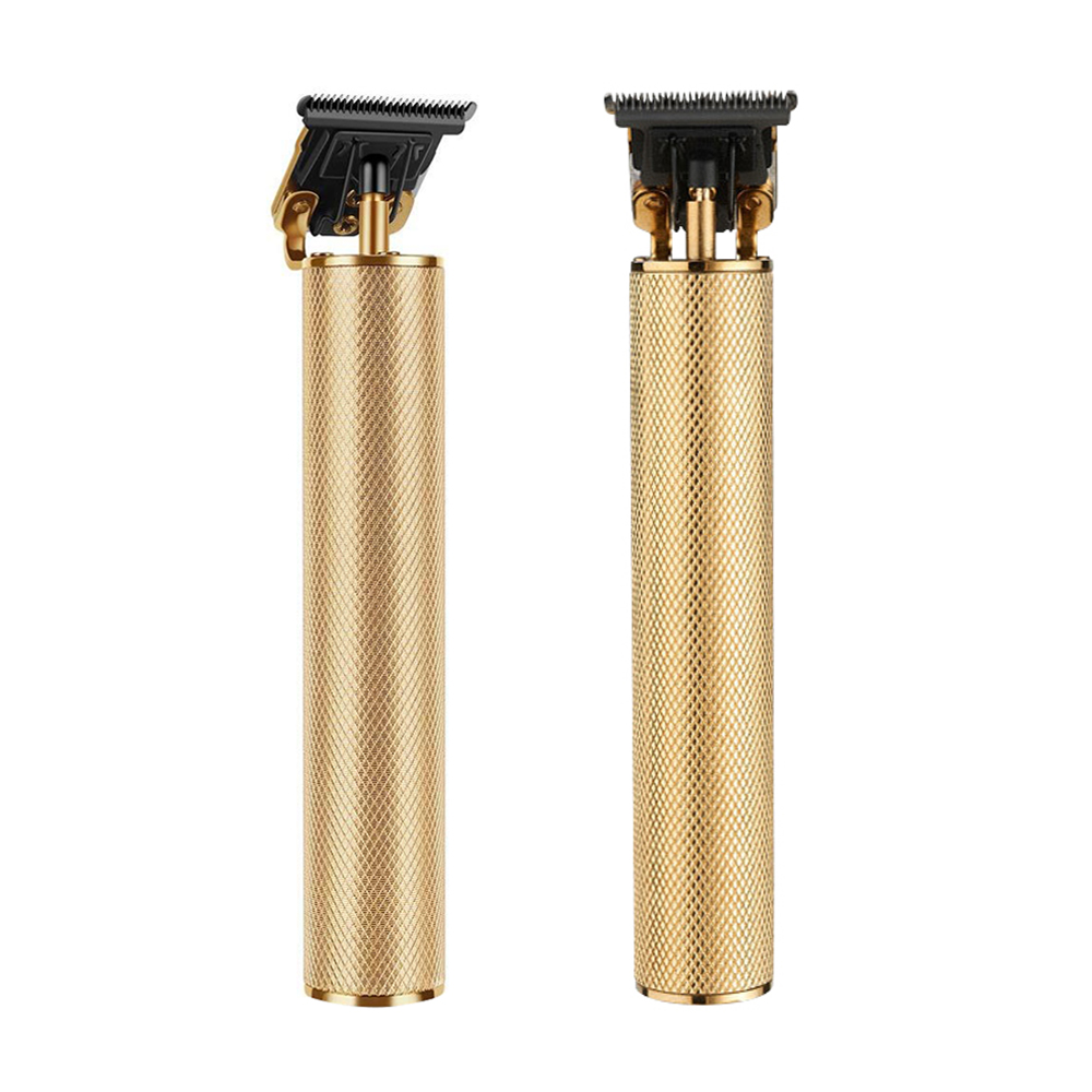 Hair-Trimmer Electric-Hair-Clipper Barbershop Cordless Digital Gold Outliner Chargeable