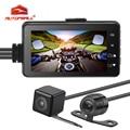 Камера ночного видения для мотоцикла  сенсорный экран  HD  в реальном времени  для видеонаблюдения  fotografica  moto MT18  dashcam  широкоугольная камера  ...