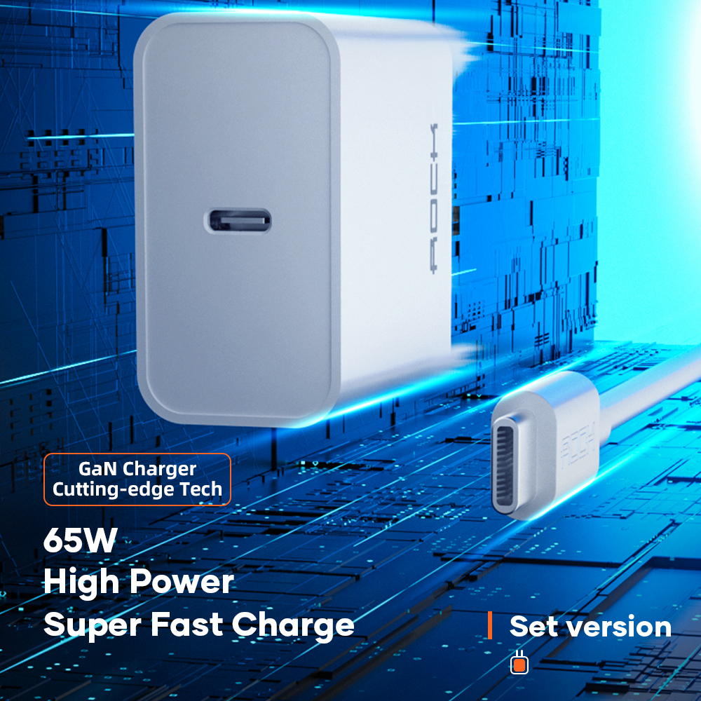 ROCK 65W GaN Charger T36 5