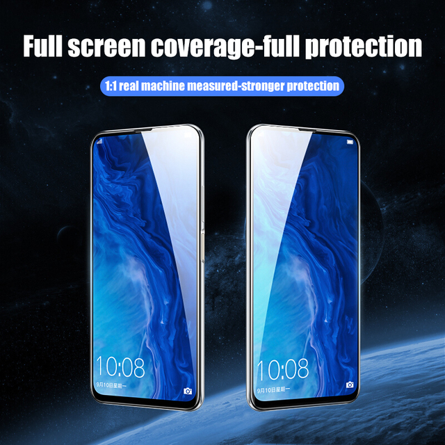 4Pcs Full Cover Tempered Glass For Huawei P30 P40 Lite E P20 Pro Screen Protector Protective For Mate 20 30 Lite P Smart Z Glass 2