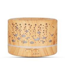 700 мл Арома диффузор для ароматерапии древесины эфирные масла