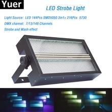 演出効果照明led超高輝度ストロボライトrgb 3in1 ledランプled洗浄ストロボ 2in1 のためのカラーミックスdjライトディスコdmx