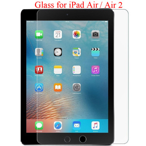 For iPad Air 2 tempered glass screen protector iPadAir A1474 A1475 A1476 iPadair2 A1566 A1567 9.7 inch screen film protection