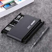 21 in 1 JAKEMY Schraubendreher-set Präzision Magnetische Schraubendreher-bits Kit für iPhone iPad Handy Reparatur Werkzeuge Mit Griff