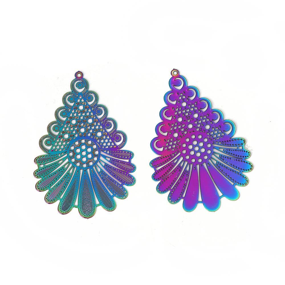 10 Collier-Boucles pour Bijoux-Pendentif À faire soi-même Bijoux Bricolage 6x2mm argent couleurs