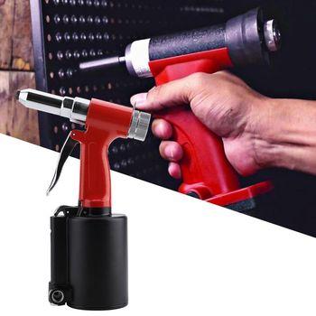 цена на Pneumatic Air Hydraulic  Rivet Gun Riveter Riveting Tool 3/32, 1/8, 5/32, 3/16 riveter gun Power Tools Domestic Delivery