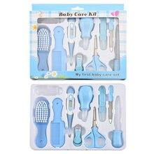 Baby Health Care Kit Newborn Nail Hair Thermometer Grooming Brush Kit Clipper Scissor Multifunction Kid Toiletries Kit Baby Care