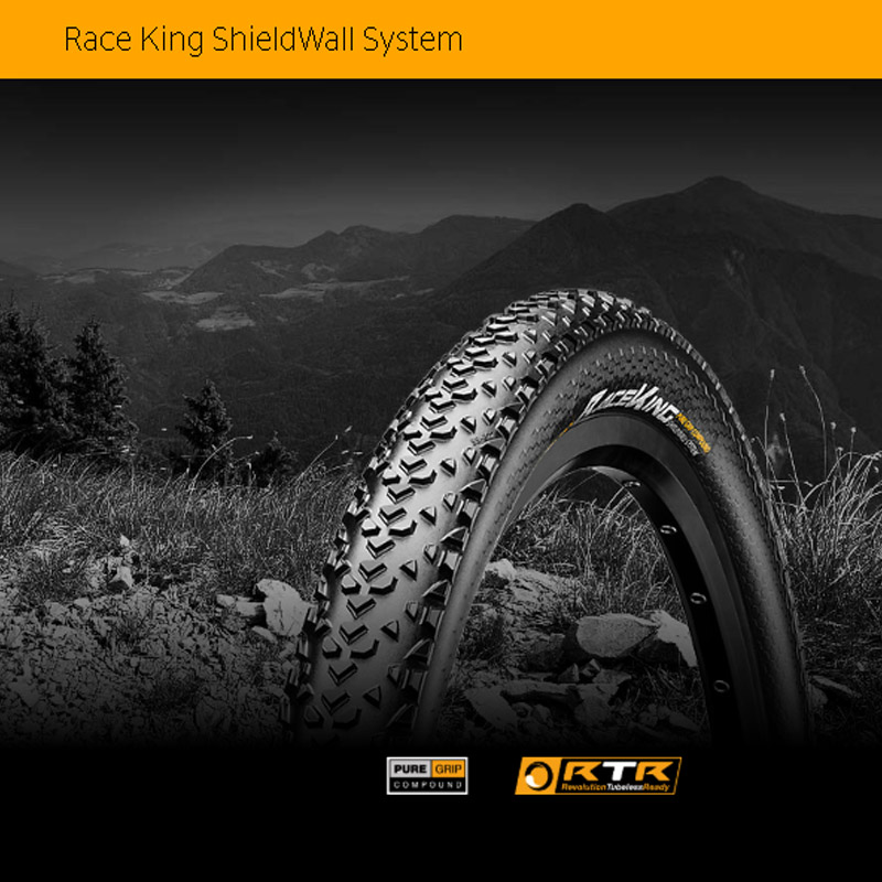 Continental race king tires folding mtb tires tubeless ready mtb bike tires 27.5 mountain bike tires