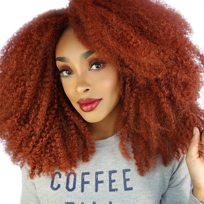 Afro Kinky Marley Braids Hair 18inch Soft Jumbo Crochet Braids Hair Extensions For Women Synthetic Long Ombre Marley Twist Hair