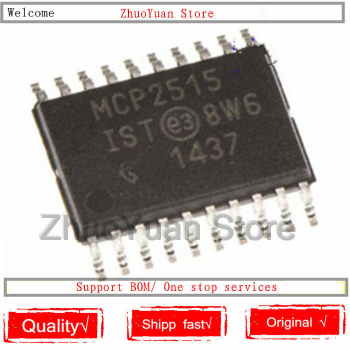 1PCS/lot New original MCP2515-I/ST TSSOP-20 MCP2515IST TSSOP20 MCP2515 TSSOP IC chip