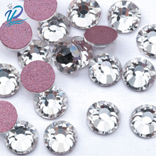 amethyst ab non hotfix crystal rhinestones ss3 ss30 and mixed sizes glue on glass chaton diy backpack clothes bag shoes supplies Upriver SS3-SS30 Rose Gold Bottom Crystal High Quality Rhinestone Flat Nail Rhinestone Non Hotfix Rhinestones