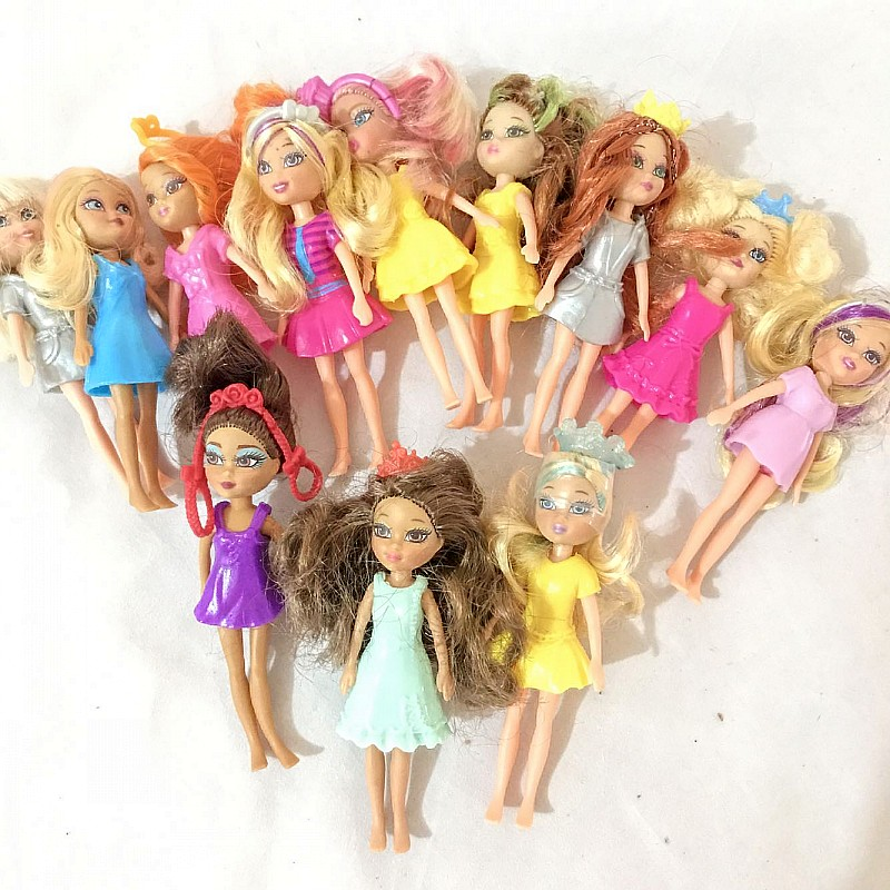 New Toys! 1pcs Princess Dolls  Girl's Toys Gifts Mini Doll 10CM Height Normal Body Cute