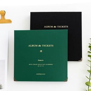 Image 5 - Billets de Concert, papier de Collection dargent, feuille dinterfeuille en cuir PU, billets de voyage, Album, à la mode Album de bricolage