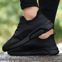 New Classics Casual Men Walking Shoes Lace Up Men Casual Shoes Outdoor Jogging Sneakers Comfortable Soft Sneakers(China)