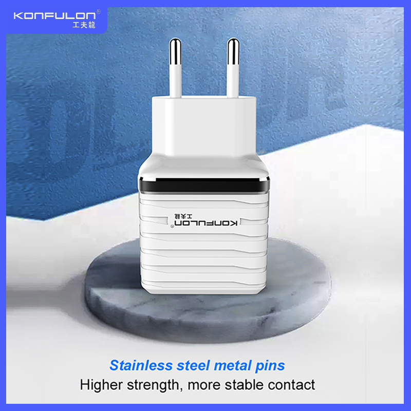 QC3.0 Charger EU EU Plug Mobile Phone Fast Charger Quick Charge 2.4A Faster Charging Dropshipping Moible Phone 3.0 Charger C32Q